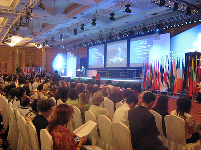 Opening session, 18th World Congress, International Federation of Translators