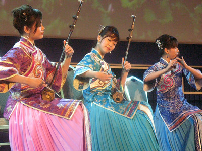 Chinese traditional chamber music
