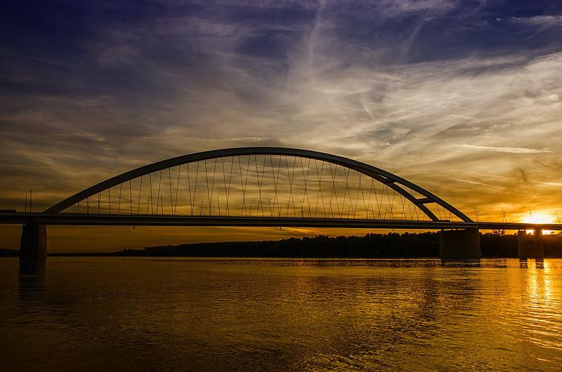 """The bridge in sunset<br /> Source: <a href=""""http://indafoto.hu/Kontiki/image/16949419-6ca78d9b"""">http://indafoto.hu/Kontiki/image/16949419-6ca78d9b</a>"""