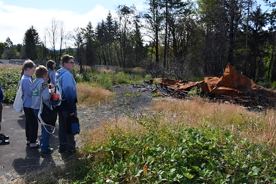 Field Trip to Otis to see Fire Damage
