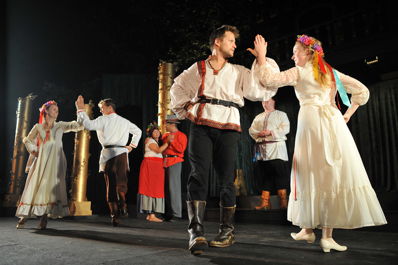 """Finale, """"As You Like It,"""" Island Stage Left, 2009"""