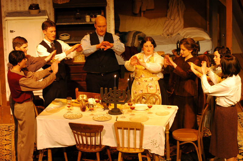 Diary of Anne Frank, Friday Harbor Drama Group, 2007