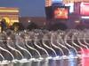 Bellagio's fountain show.