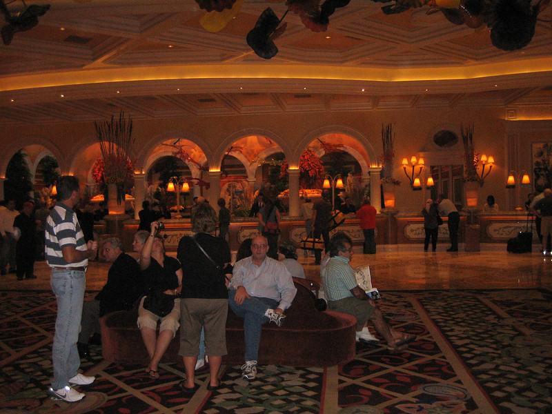 Bellagio's lobby
