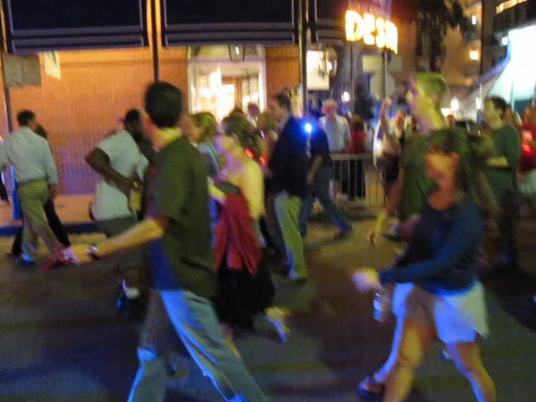 Second line going to the Marigny.