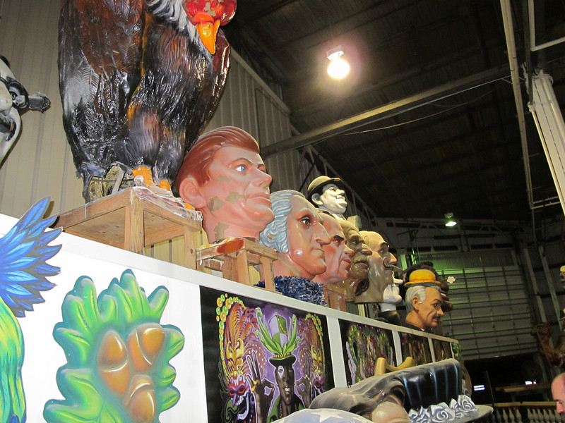 The nerd (Microsoft conference) party in NOLA at Blaine Kern's Mardi Gras World.<br /> Blew away (in content and attendance) the last few we attended in Los Angeles.<br /> Great heads.