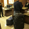 Jeff checking in for a 4 day conference.<br /> Packs like ladies.