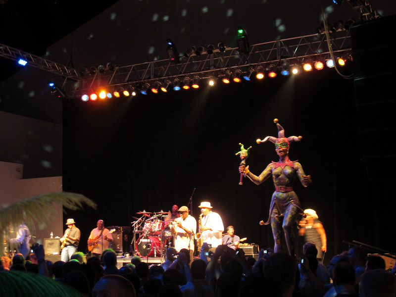 The nerd (Microsoft conference) party in NOLA at Blaine Kern's Mardi Gras World.<br /> Blew away (in content and attendance) the last few we attended in Los Angeles.<br /> Buckwheat Zydeco.