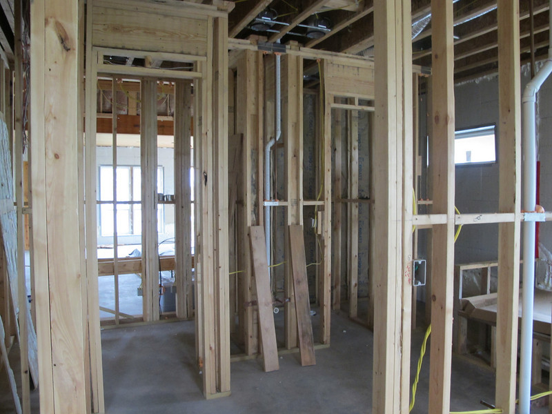 Parents' new (post-Katrina) house in Diamondhead (on the same property)