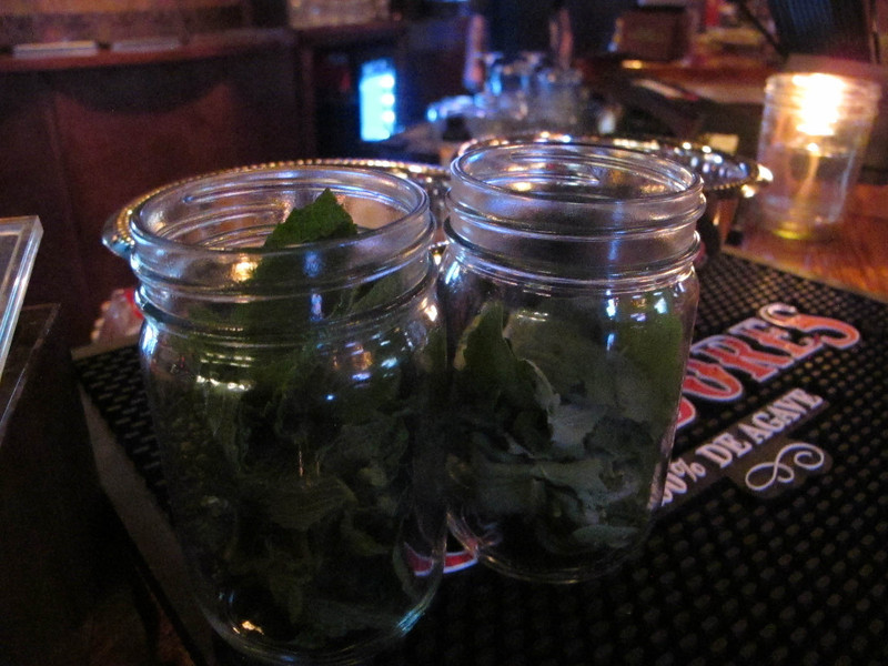 Fresh mint in New Orleans? Why can't I get that in Kentucky where mint juleps are a thing?