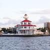 post Katrina rebuilt lighthouse