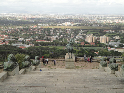 View of Cape Town from the Memorial