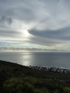 View of the Atlantic Ocean from Table Mountain