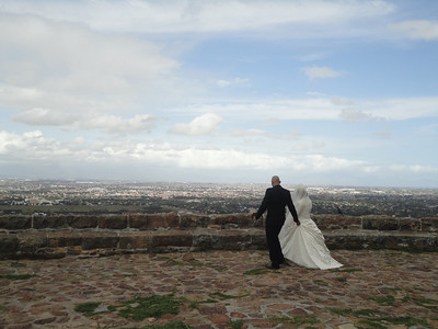 Wedding at the Cecil Rhodes Memorial