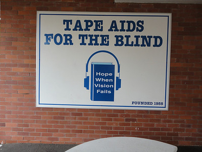 with involvement from Tape Aids for the Blind