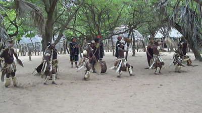 "Zulu Village performance--can you say ""The white folks eat this up--what the hey, it's a living ..."""