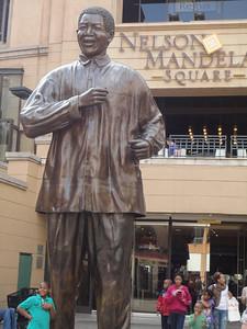 Visit to Nelson Mandela Square