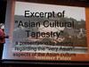 MSWMM Asian Cultural Tapestry