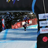 VEYSONNAZ, SWITZERLAND - JANUARY 15:  FIS World Championship Snowboard Cross finals.  new world champion Pierre Vaultier beats 2nd David Speiser, and 3rd Nick Baumgartner.  January 15 in Veysonnaz, Switzerland
