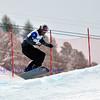 VEYSONNAZ, SWITZERLAND - JANUARY 21: Finalist Pierre Vaultier (FRA) in the FIS World Championship Snowboard Cross finals : January 21, 2012 in Veysonnaz Switzerland