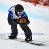 VEYSONNAZ, SWITZERLAND - JANUARY 21: Finalist Jonathan Cheever (USA) at the FIS World Championship Snowboard Cross finals : January 21, 2012 in Veysonnaz Switzerland
