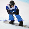 VEYSONNAZ, SWITZERLAND - JANUARY 21: Finalist Alex Diebold (USA) in the FIS World Championship Snowboard Cross finals : January 21, 2012 in Veysonnaz Switzerland