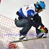 VEYSONNAZ, SWITZERLAND - JANUARY 21: Omar Visintin (ITA) at the FIS World Championship Snowboard Cross finals : January 21, 2012 in Veysonnaz Switzerland