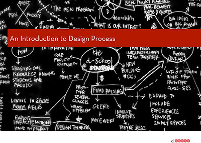 Transformative Design - the d.school class at Stanford (2010-2012), with Bernie Roth, Bill Moggridge, Meghann Dryer, and Michael Shanks