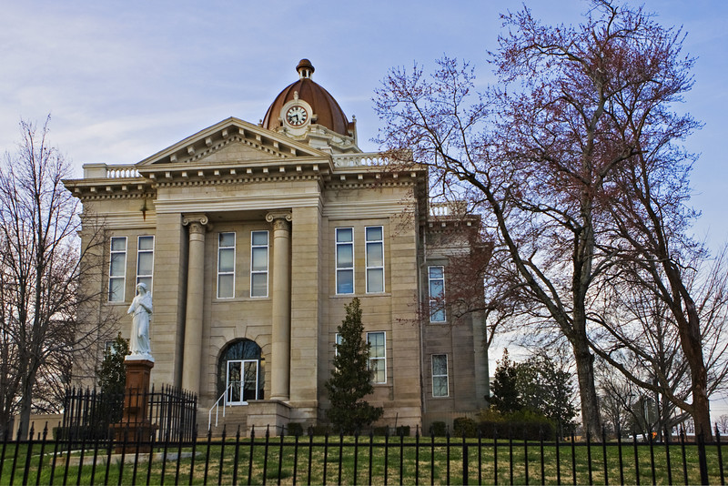 Old Lee County Courthouse