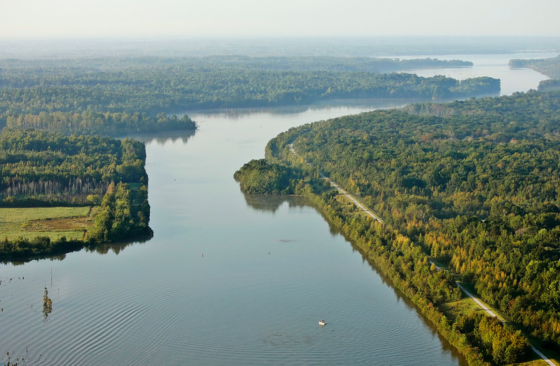 One of the South's best kept secrets for fishing, boating and skiing, the Tenn-Tom Waterway.