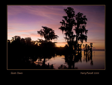 Quiet Dawn, Lake Minnehaha, Clermont, FL