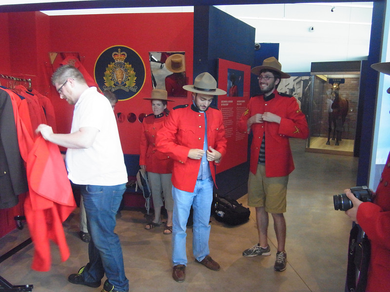 A younger crop of RCMP mounties is recruited.