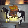 This mechanical horse (steam driven) is, well, just puzzling.