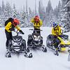 TCSAR snowmobile training-3364
