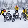 TCSAR snowmobile training-3365