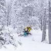 TCSAR snowmobile training-3445