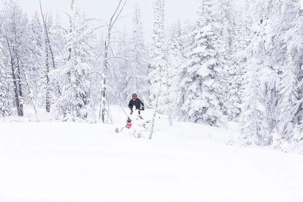 TCSAR snowmobile training-3544