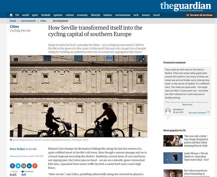 Edición digital de The Guardian
