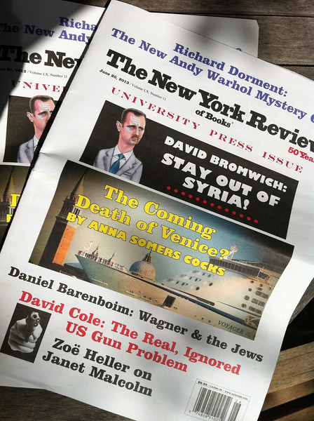 The New York Review, 20/06/2013