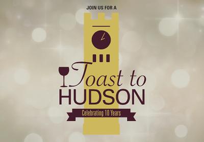 Toast to Hudson