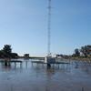 KSCO towers in salt water, Santa Cruz