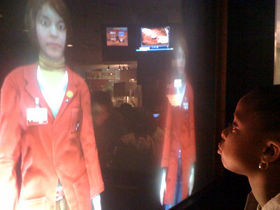 Boston MOS Opening Twin Virtual Human Guides