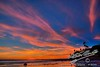 """Pacific Beach Sunset  <a href=""""http://lenslord.com/2010/10/13/pacific-beach-sunset/"""">Link to the article on my blog</a>"""