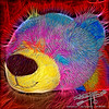 by Jack Foster Mancilla - LensLord™<br /> Fuzzy Toy Bear