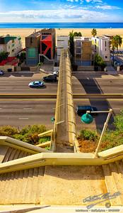 Santa Monica Pedestrian Bridge by Jack Foster Mancilla - LensLord™
