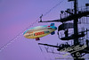Carnival Blimp crossing the Midway