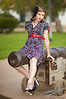 """Kat on a Cannon  <a href=""""http://lenslord.com/2010/04/08/kat-on-a-cannon/"""">Link to the article on my blog</a>"""
