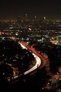 101 Freeway into Los Angeles