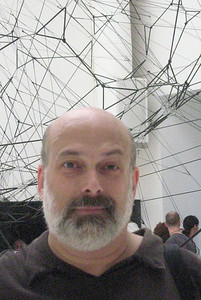 "Tomas Saraceno (Argentina), ""Galaxies Forming Along Filaments, like Droplets Along Strands of a Spider's Web,"" 2009"
