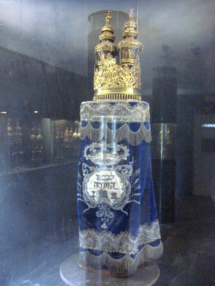 The Torah scroll (18th century).